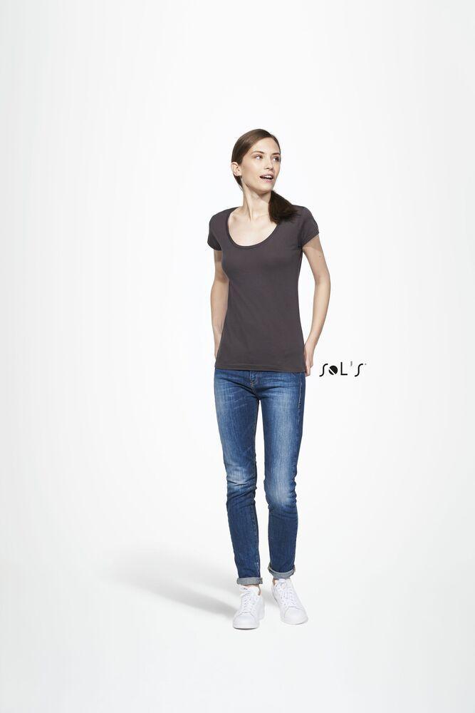Sol's 11402 - Women's Round Neck Sheer Jersey T-Shirt Must
