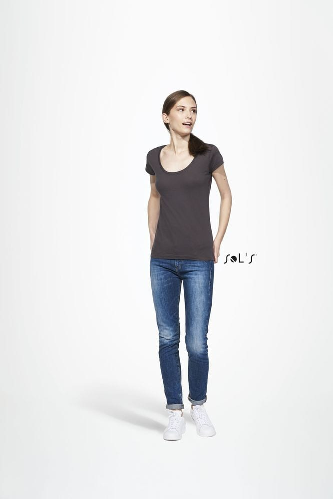 Sol's 11402 - Women's Round Neck Sheer Jersey T-Shirt Must