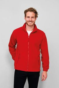 Sols 55000 - Mens Zipped Fleece Jacket North