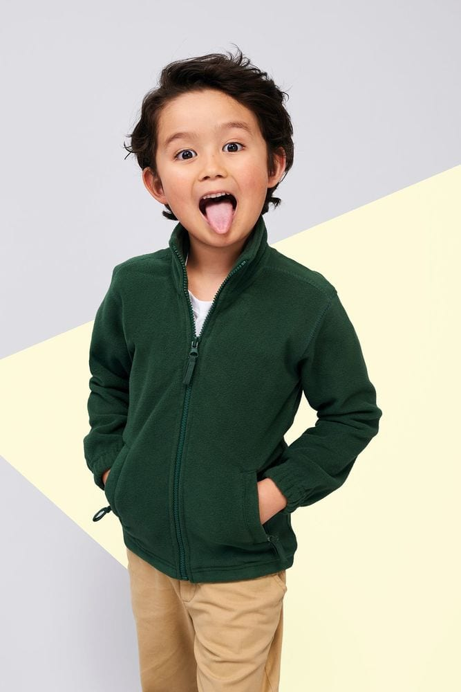 Sol's 00589 - Kids' Zipped Fleece Jacket North
