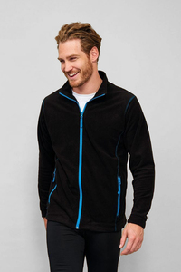 Sols 00586 - Mens Micro Fleece Zipped Jacket Nova