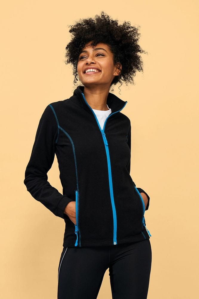 Sol's 00587 - Women's Micro Fleece Zipped Jacket Nova