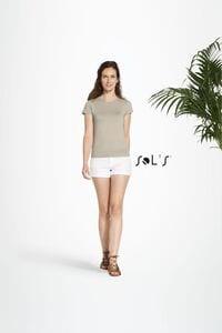 Sols 11990 - T-Shirt Para Senhora Organic