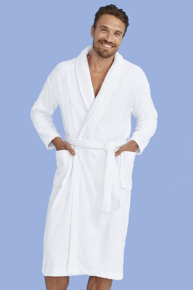 Sol's 89100 - Unisex Bathrobe (Shawl Collar) Palace