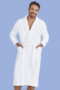 Sols 89100 - UNISEX BATHROBE (SHAWL COLLAR) PALACE