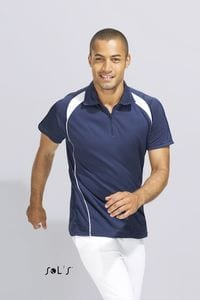 Sols 11418 - MENS TWO-COLOURED POLO SHIRT PALLADIUM