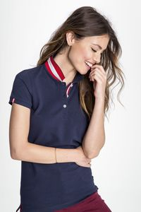 Sols 01407 - WOMENS POLO SHIRT PATRIOT