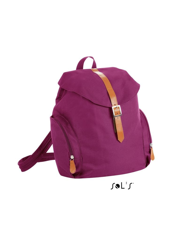 Sol's 01202 - WOMENS 600D POLYESTER BACKPACK PERRY