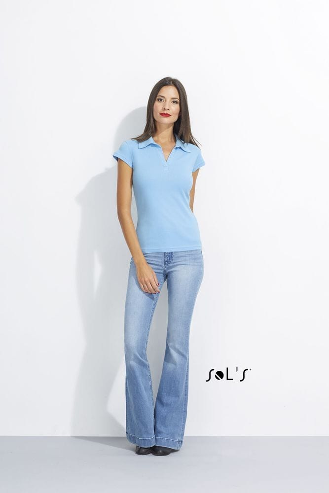 Sol's 11325 - Polo Rugby Femme PRETTY