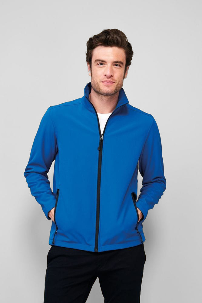 Sol's 01195 - Men's Softshell Zip Jacket Race