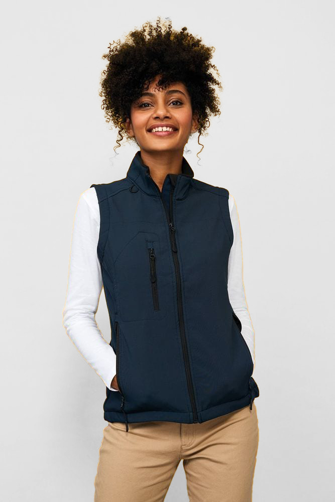 Sol's 46801 - Women's Sleeveless Softshell Jacket Rallye