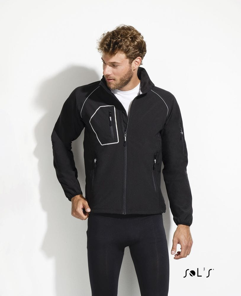 "Sol's 46605 - MEN'S ""PERFORMANCE"" SOFTSHELL JACKET RAPID"