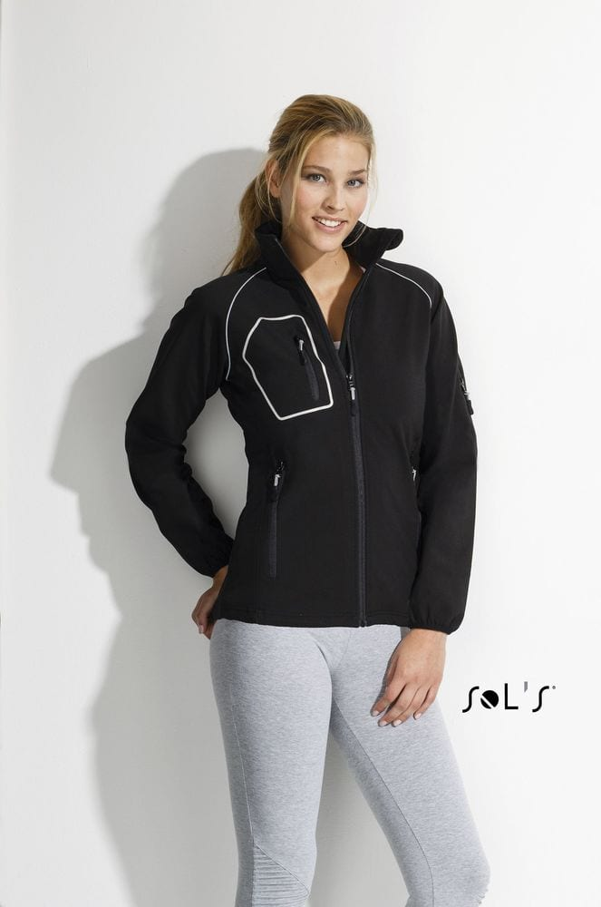 "Sol's 46805 - WOMEN'S ""PERFORMANCE"" SOFTSHELL JACKET RAPID"