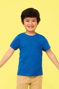 Sols 11970 - T-Shirt De Gola Redonda Para CrianÇa Regent