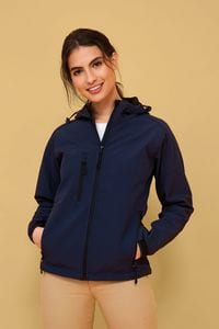 Sols 46802 - Womens Hooded Softshell Replay