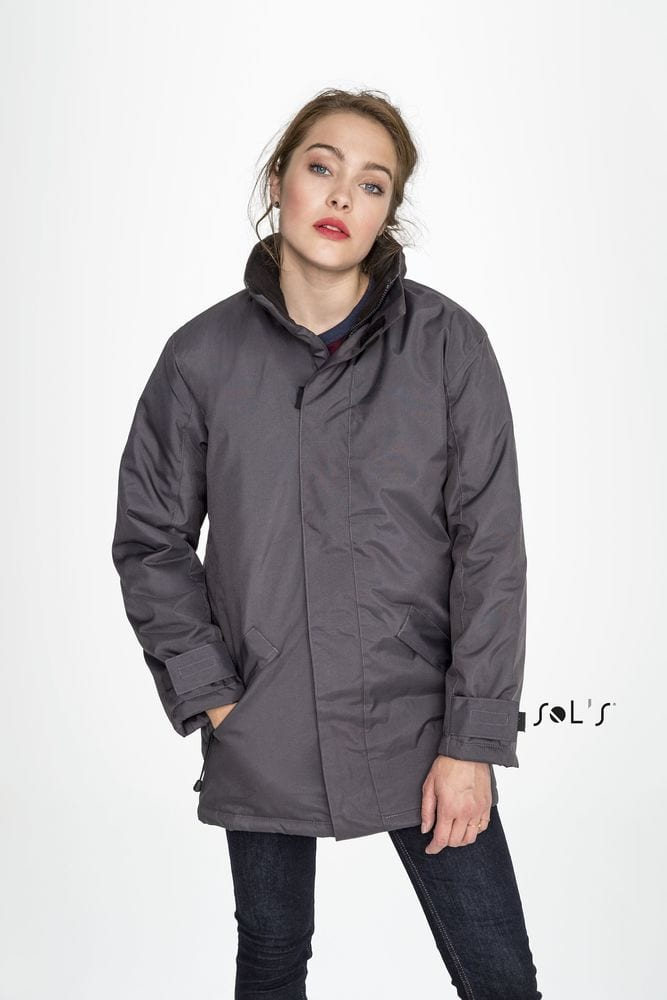 Sol's 43400 - UNISEX PARKA WITH QUILTED LINING RIVER