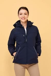 Sols 46804 - DAMEN SOFTSHELL JACKE, WATTIERT ROCK