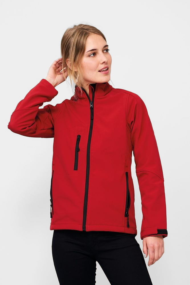 Sol's 46800 - WOMEN'S SOFTSHELL ZIPPED JACKET ROXY