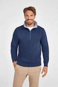 Sols 47300 - SWEAT-SHIRT HOMME COL CAMIONNEUR SCOTT