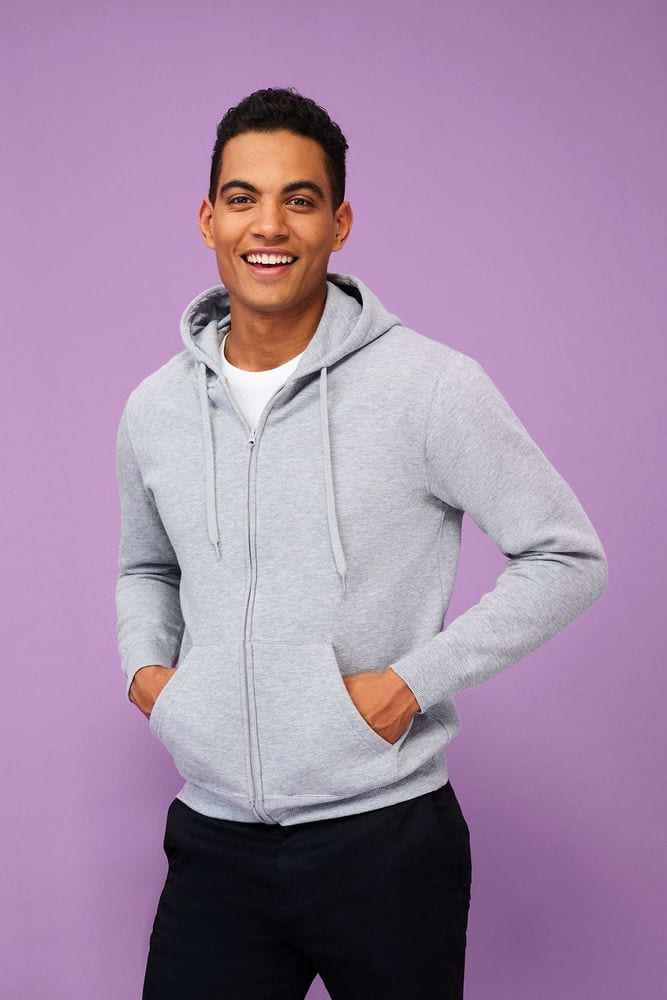 Sol's 47800 - Men's Jacket With Lined Hood Seven