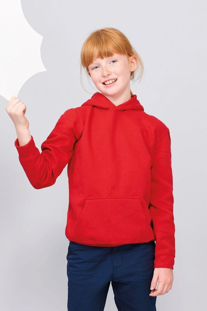 Sol's 13255 - Kids' Hooded Sweat-Shirt Slam