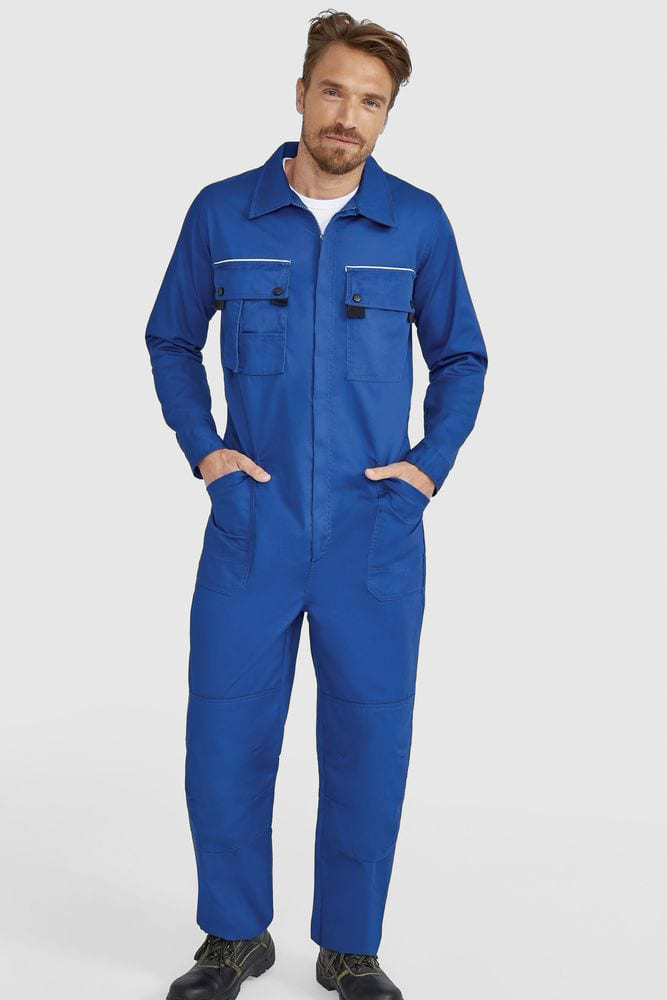 Sol's 80902 - Workwear Overall With Simple Zip Solstice Pro