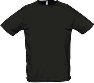 Sols 11939 - Raglan Sleeves T-Shirt Sporty