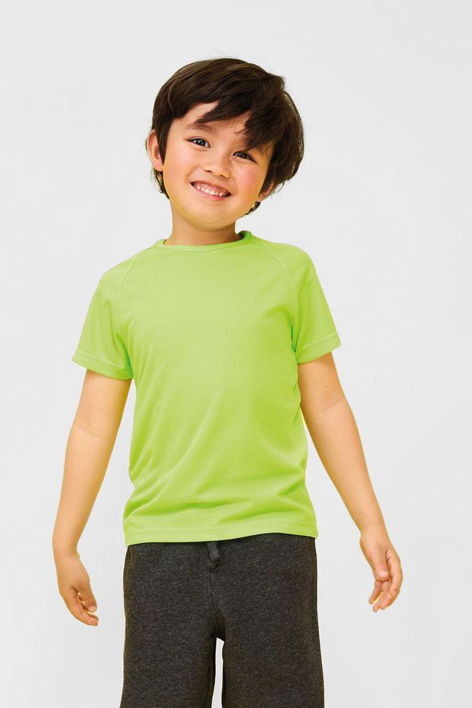 Sol's 01166 - Kids' Raglan-Sleeved T-Shirt Sporty
