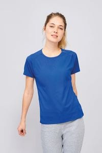 Sols 01159 - Womens Raglan-Sleeved T-Shirt Sporty