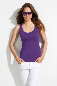 Sols 11808 - Womens Slub Racer Back Tank Top St Germain