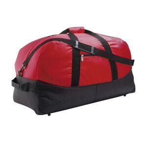 Sols 70650 - TWO-COLOURED 600D POLYESTER TRAVEL / SPORTS BAG STADIUM65