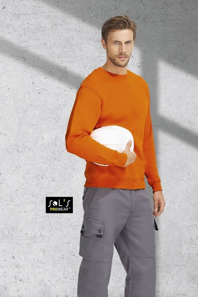 Sol's 80300 - SWEAT-SHIRT WORKWEAR STEEL PRO