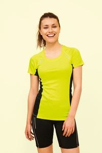 Sols 01415 - Sydney Womens Short Sleeve Running T-Shirt