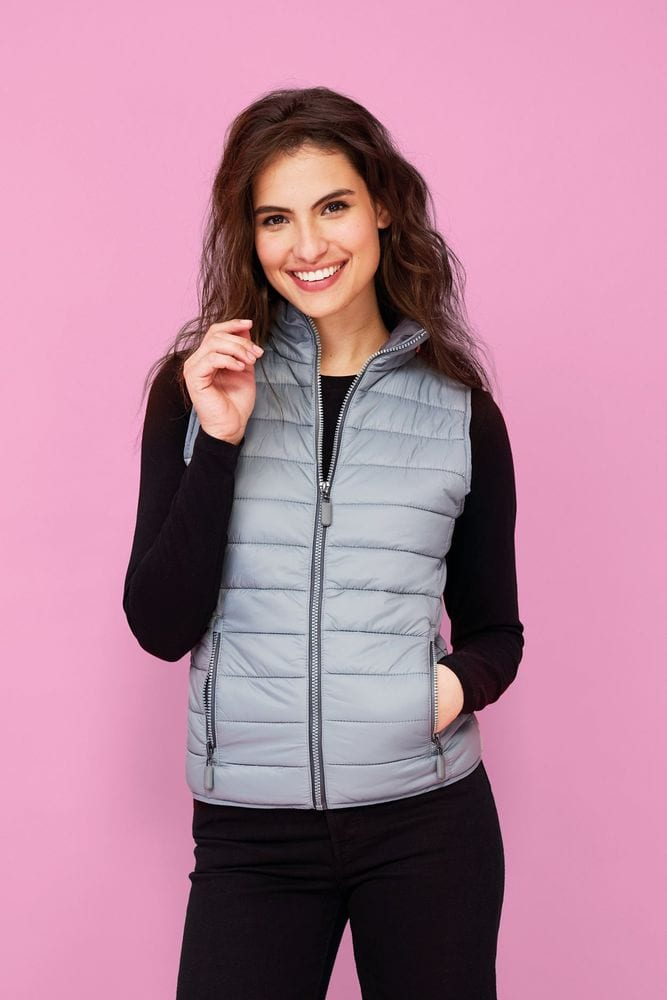 Sol's 01437 - Women's Lightweight Bodywarmer Wave