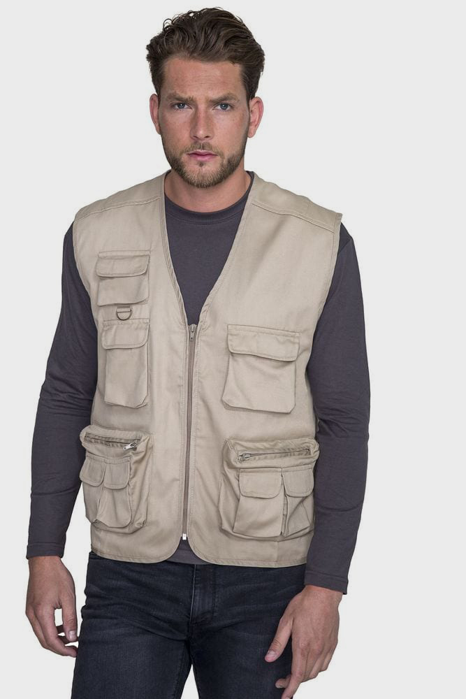 Sol's 43630 - Gilet Reporter Multipoches WILD
