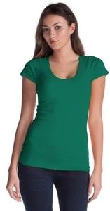 Jerico 57 - Bamboo Ladies Deep Scoop T-Shirt