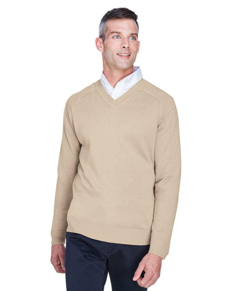 Devon & Jones D475 - Men's V-Neck Sweater