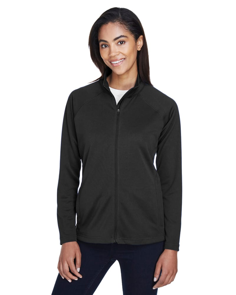 Devon & Jones DG420W - Ladies Stretch Tech-Shell® Compass Full-Zip
