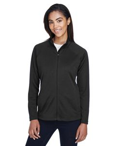 Devon & Jones DG420W - T-Shirt Compass Full-Zip pour dames