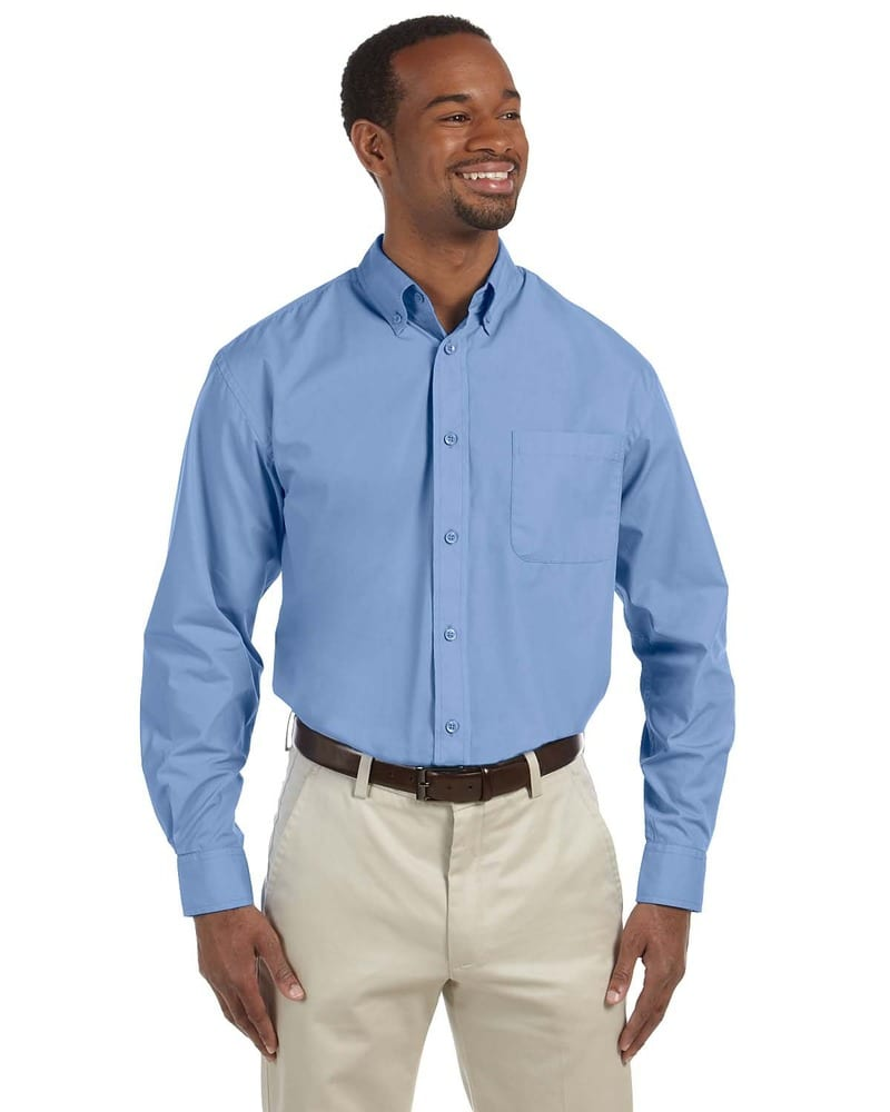 Harriton M510 - Men's 3.1 oz. Essential Poplin