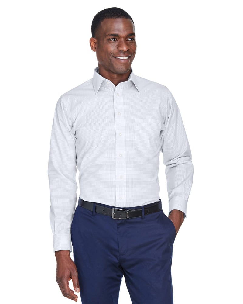 Devon & Jones DG510 - T-Shirt Collection Crown Micro Tattersall