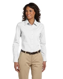 Harriton M510W - Ladies 3.1 oz. Essential Poplin