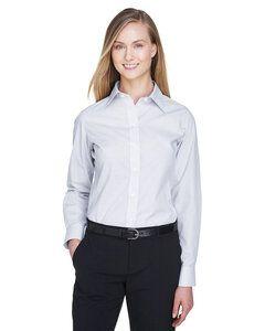 Devon & Jones DG510W - T-Shirt Collection Crown Micro Tattersall pour femmes