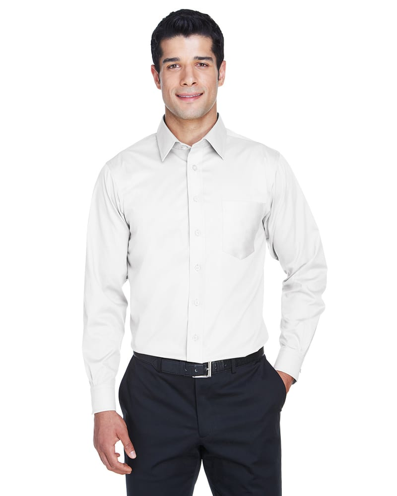 Devon & Jones DG530 - Men's Crown Collection™ Solid Stretch Twill