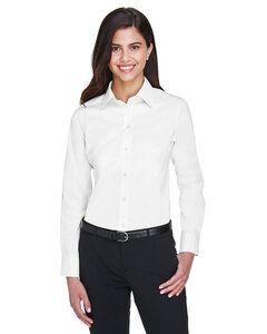 Devon & Jones DG530W - T-Shirt Collection Crown - Dames - Sergé solide et extensible