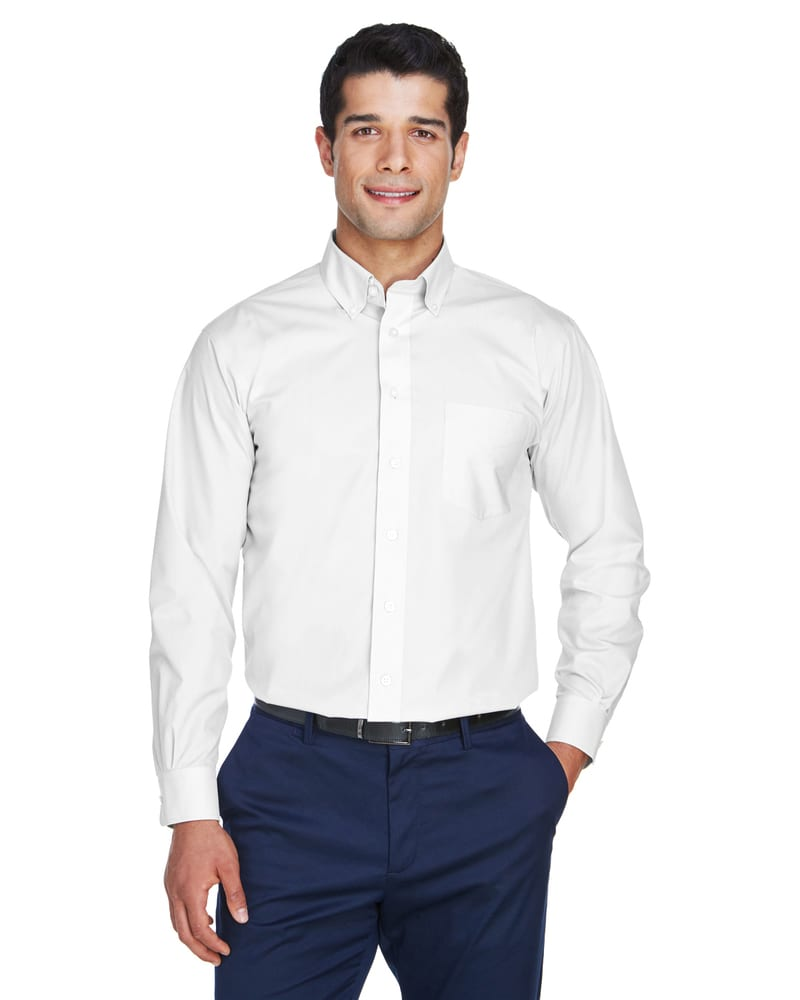 Devon & Jones D620 - Men's Crown Collection™ Solid Broadcloth