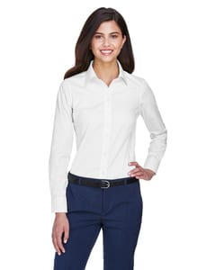 Devon & Jones D630W - Ladies Crown Collection™ Solid Oxford