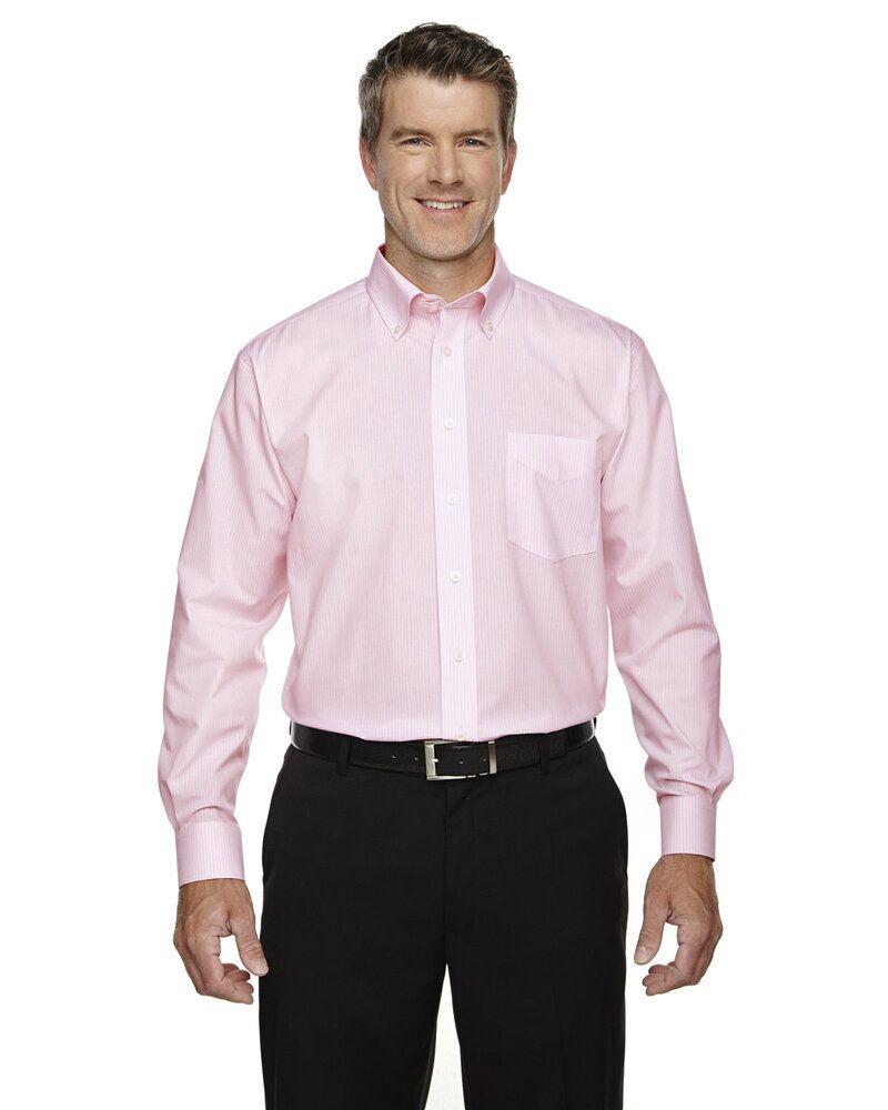 Devon & Jones D645 - T-Shirt Collection Crown Banker à rayures