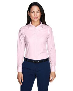 Devon & Jones D645W - T-Shirt Ladies Crown Collection Banker Stripe