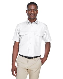 Harriton M580 - Mens Key West Short-Sleeve Performance Staff Shirt